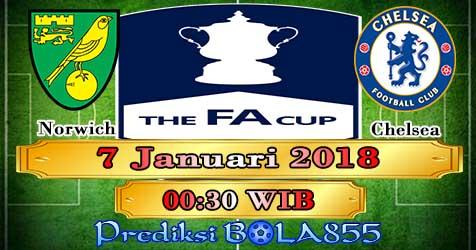 Prediksi Bola855 Norwich City vs Chelsea 7 Januari 2018