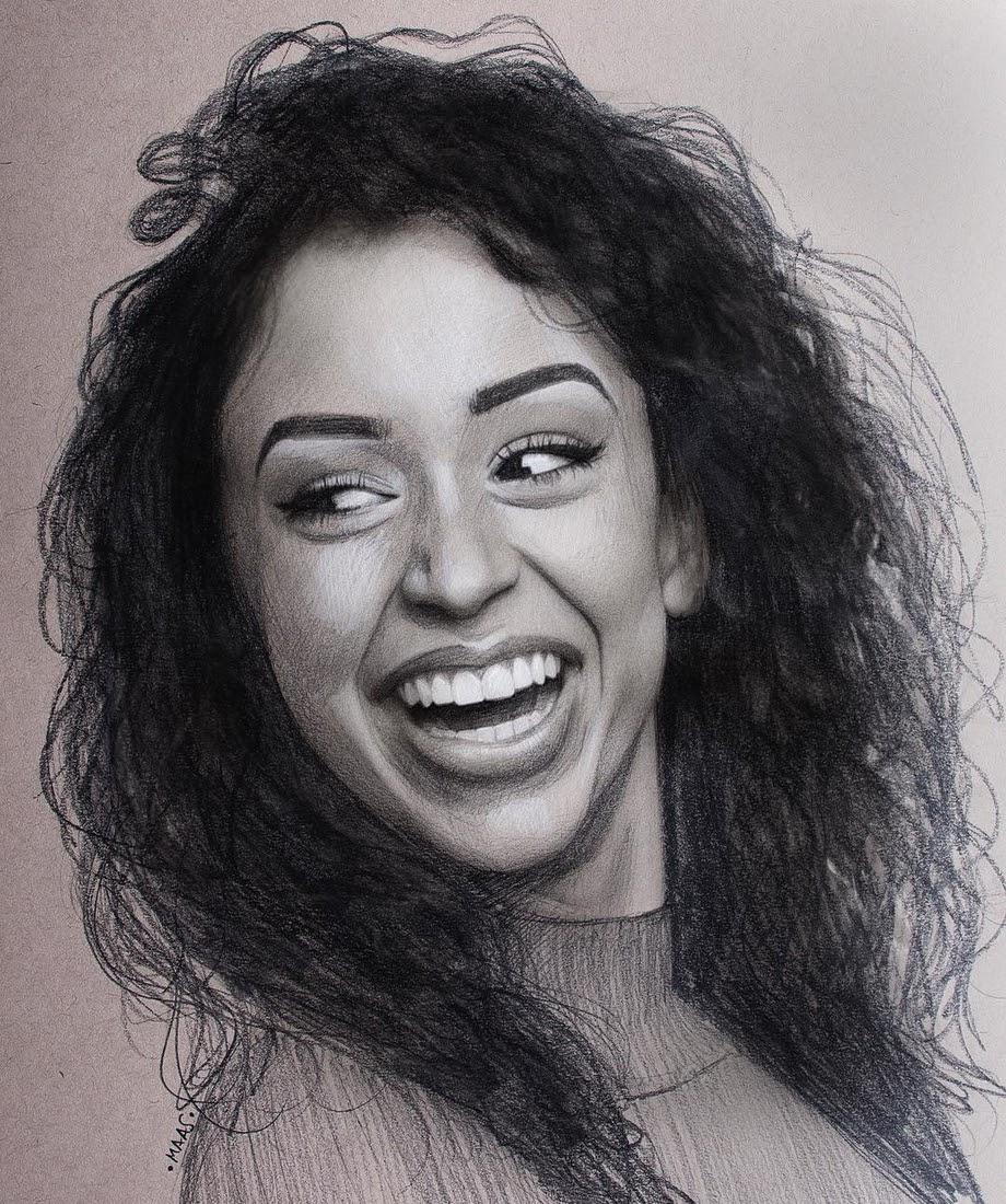 12-Liza-Koshy-Justin-Maas-Pastel-Charcoal-and-Graphite-Celebrity-Portraits-www-designstack-co