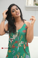 Actress Eesha Latest Pos in Green Floral Jumpsuit at Darshakudu Movie Teaser Launch .COM 0052.JPG