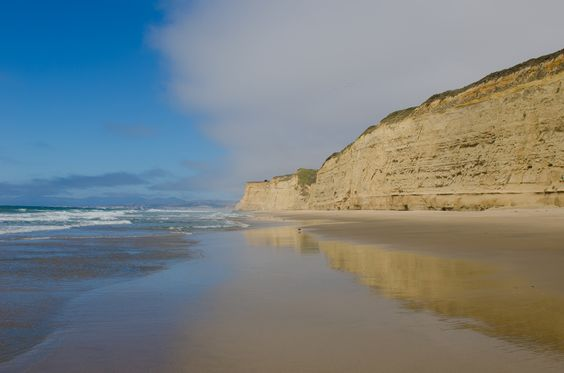 Pomponio Beach, California, USA