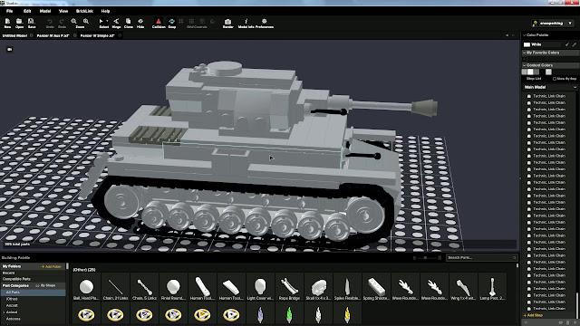 τουβλάκια LEGO δωρεάν πρόγραμμα Brick link