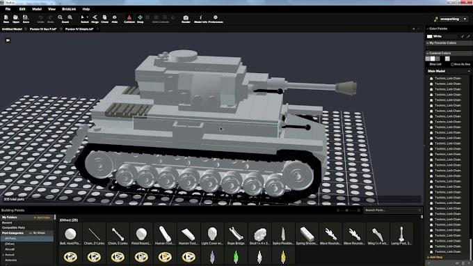 Bricklink Studio - Ένα διαφορετικό δωρεάν σχεδιαστικό πρόγραμμα με τουβλάκια LEGO