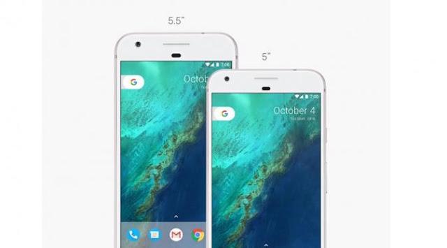 Perbandingan Smartphone Google Pixel dan Pixel XL