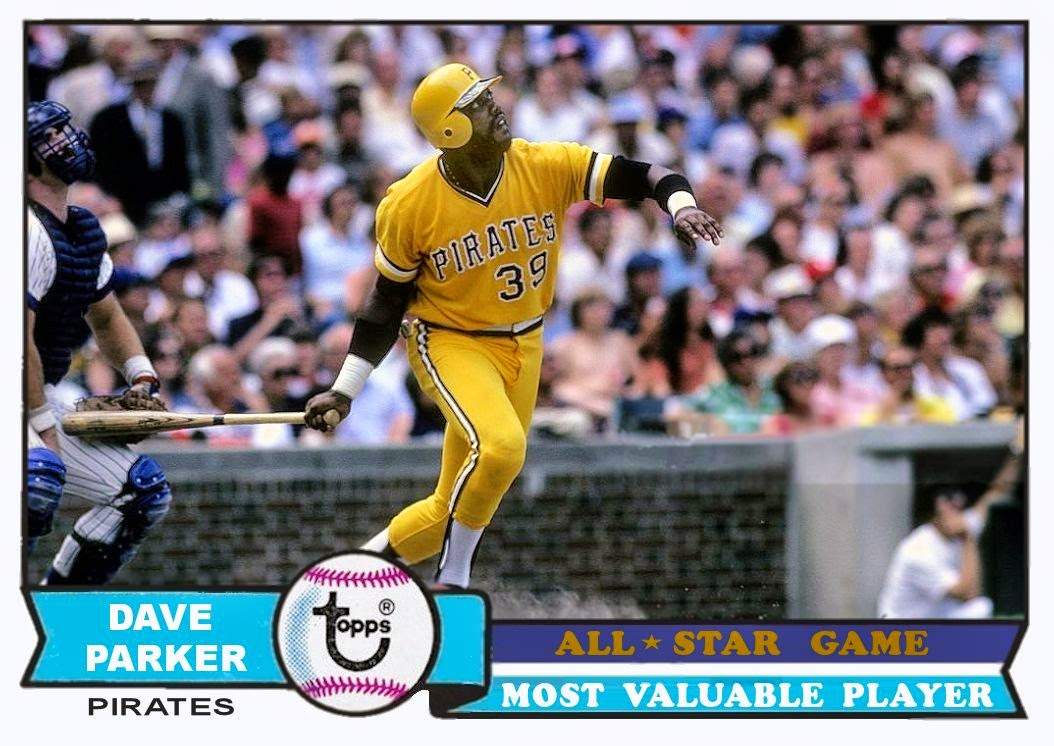 Cards That Never Were 1979 Topps Dave Parker All Star Mvp