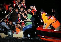 Αύξηση προσφυγικών ροών από Τουρκία