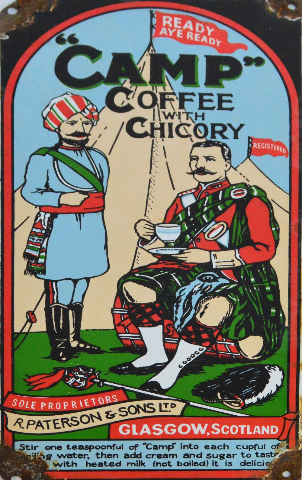 93b47787c67 on target shooter nz: Politically Correct CAMP COFFEE Essence: