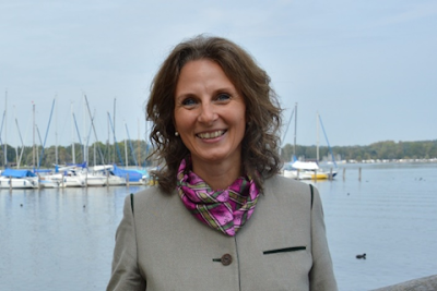 Picture of Christina Pfaffinger, director of Chiemsee-Alpenland Tourism