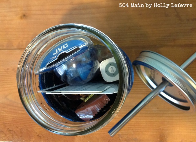 Mason Jar gift idea for a teenage boy