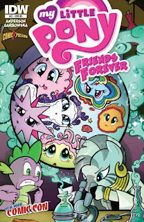 MLP Friends Forever #21 Comic by IDW NYCC2015 Cover by Diana Leto