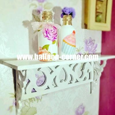 Contoh Kreasi Kertas Tissue Servietten Decoupage / Tissue Decoupage
