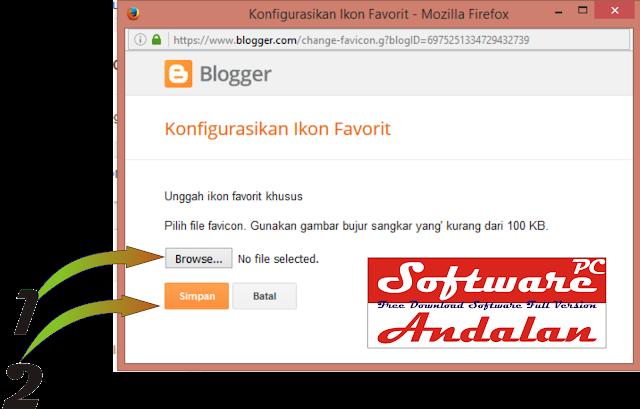 Cara Mudah Mengganti Favicon Blogger