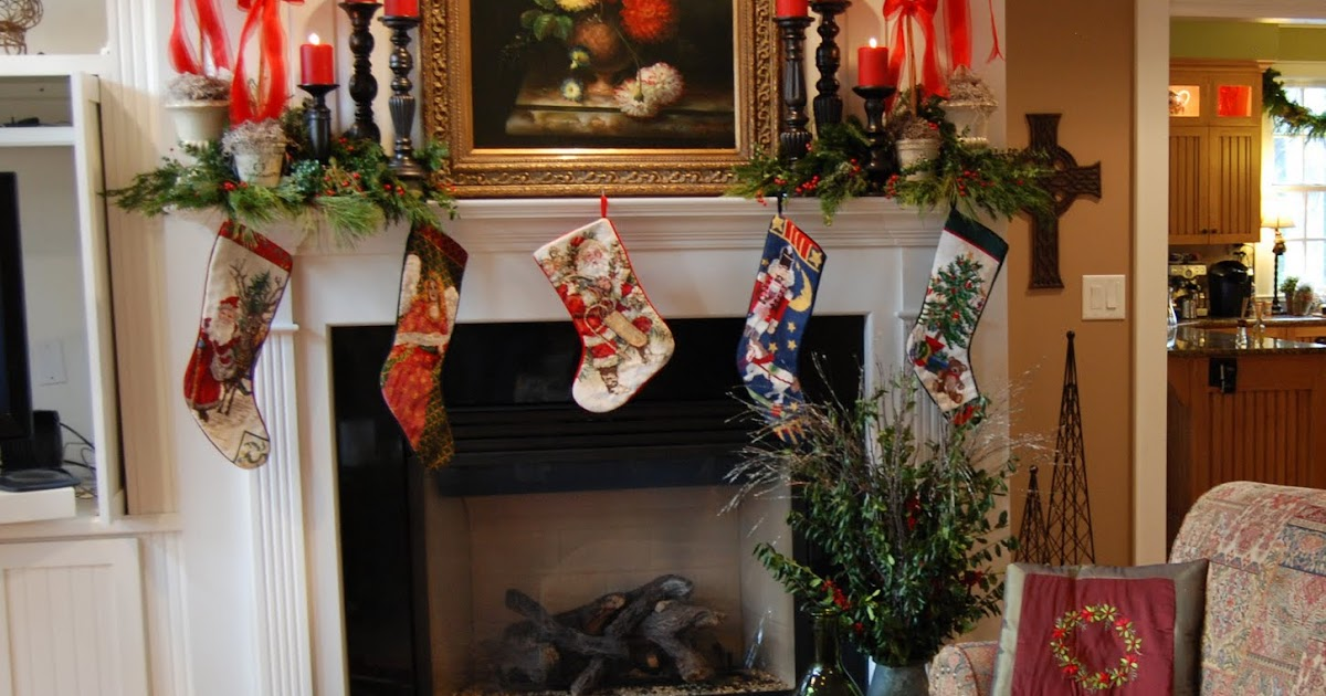 Imparting Grace: Christmas Mantels