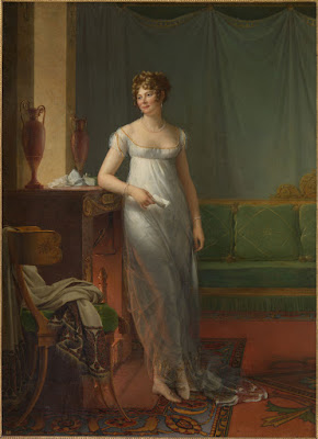 Painting - Madame Charles Maurice de Talleyrand Périgord by François Gerard