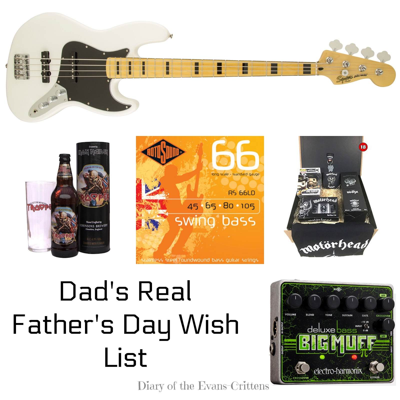 ", Dad's Real ""Father's Day"" Wish List"