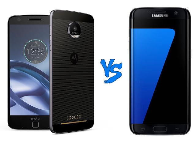 Moto Z vs Samsumg Galaxy S7