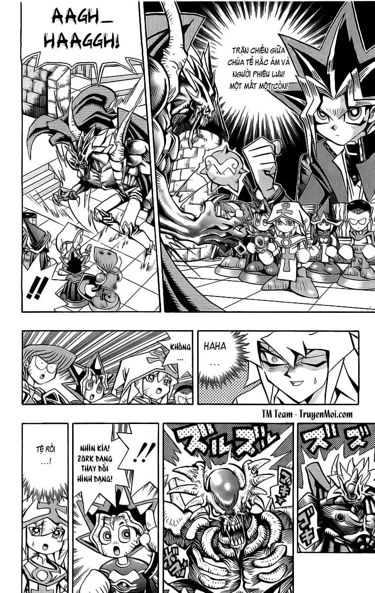 YUGI-OH! chap 58 - phần ix: phù thủy trắng bakura trang 4