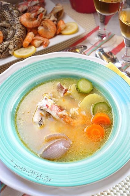 Ελληνική Παραδοσιακή Ψαρόσουπα