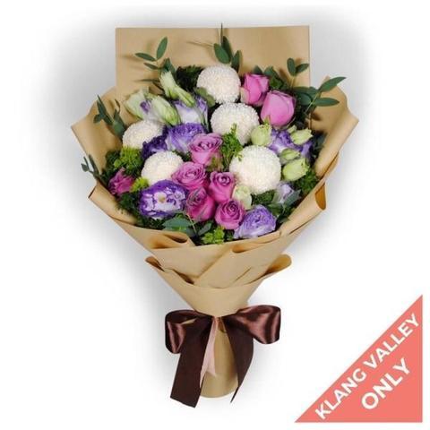 gubahan coklat dari flower chimp, hadiah kepada org tersayang