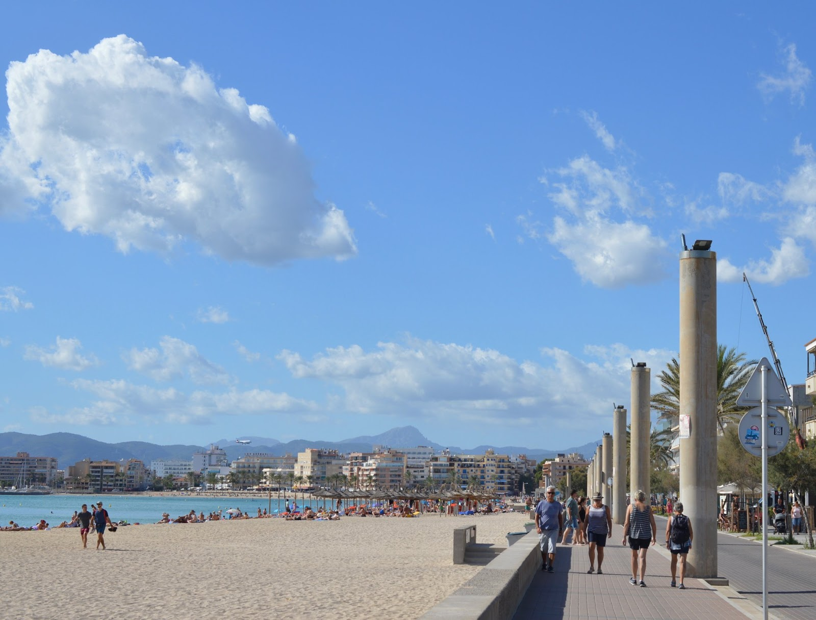 Majorca - A Perfect Holiday Destination for Families  - Palma City from beach