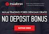 No Deposit Instaforex Bonus Tanpa Deposit