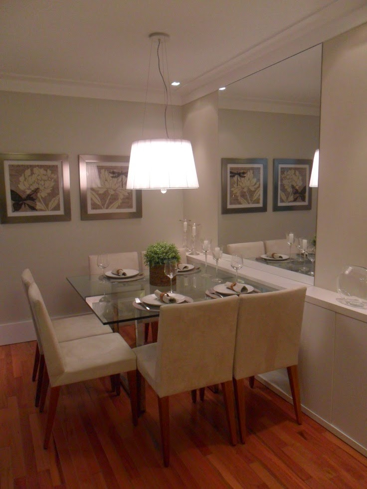 20 salas de jantar pequenas jeito de casa blog de for Mesa de comedor elegante lamentable