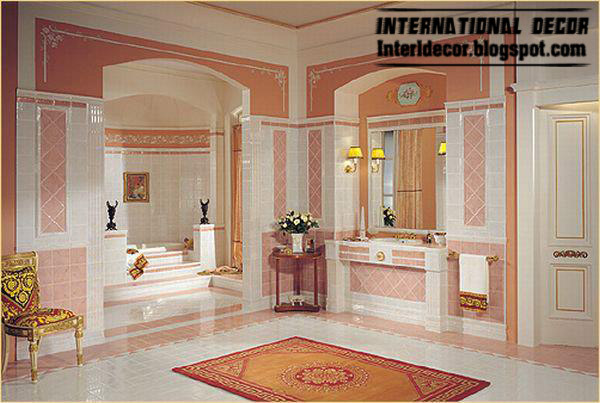 Royal And Luxurious Bathroom Designs Decorations