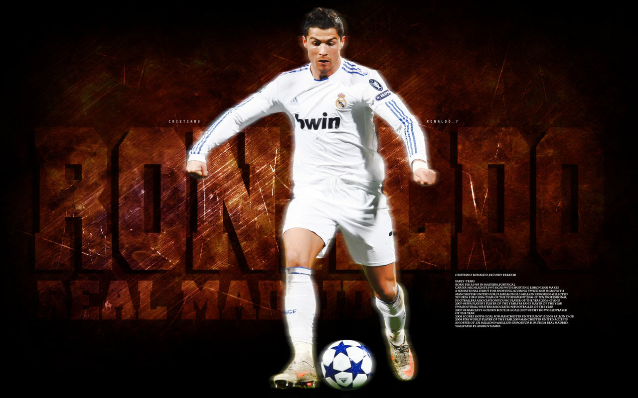 Football Cristiano Ronaldo Hd Wallpapers: Sports Celebrity Wallpapers