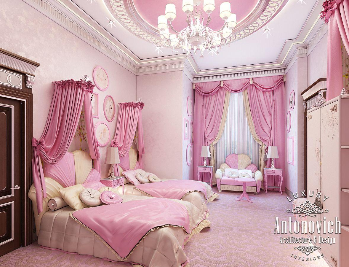 Canopy For Bedroom Luxury Antonovich Design Uae Pink Girly Bedroom Dubai