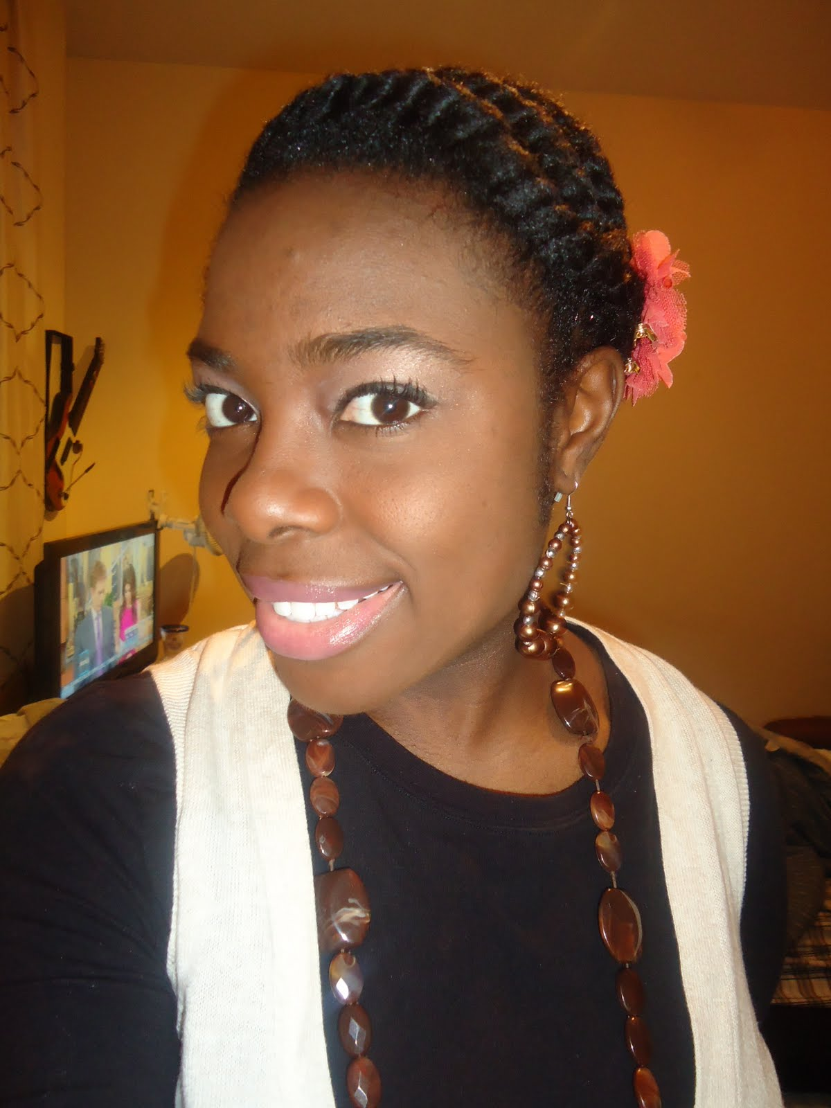 Natural Hair Tutorial: Ethnic Protective Style Flat Twist ...