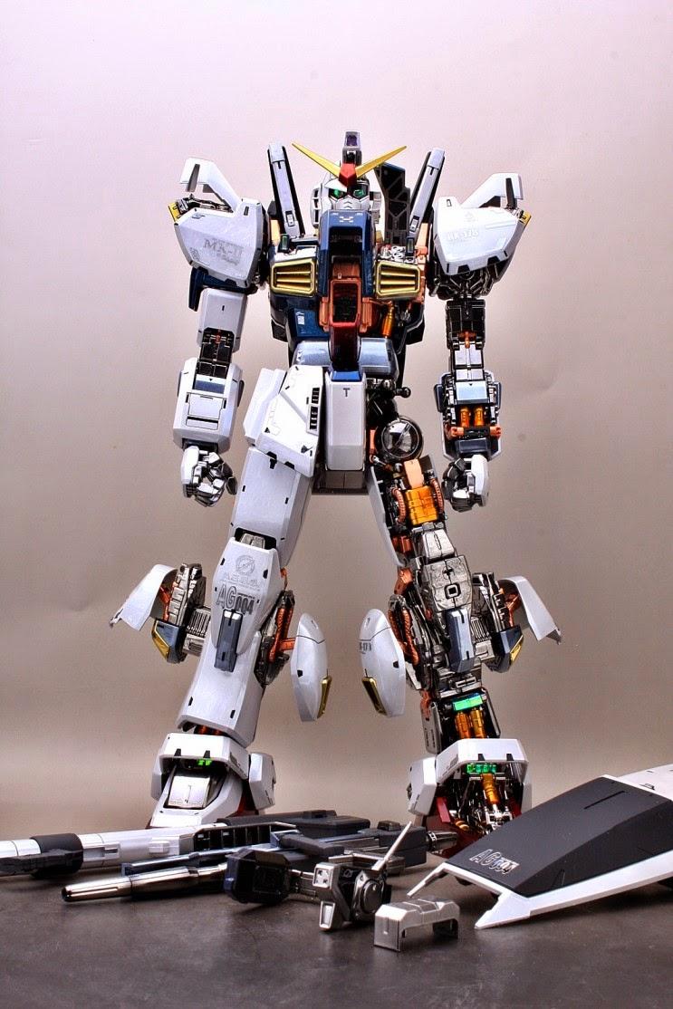 Custom Build Pg 1 60 Rx 178 Gundam Mk Ii Aeug Quot Gloss