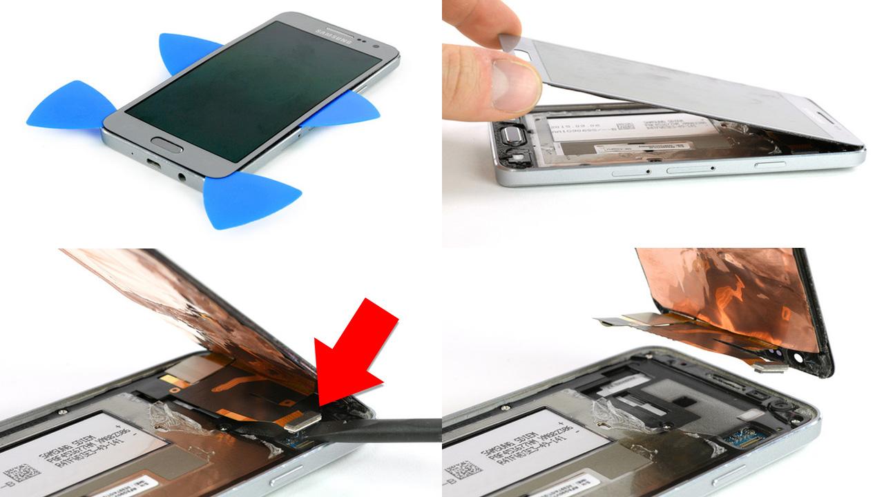 Cara Mengganti Lcd Atau Baterai Samsung Galaxy A3 A5 2015 Elppas