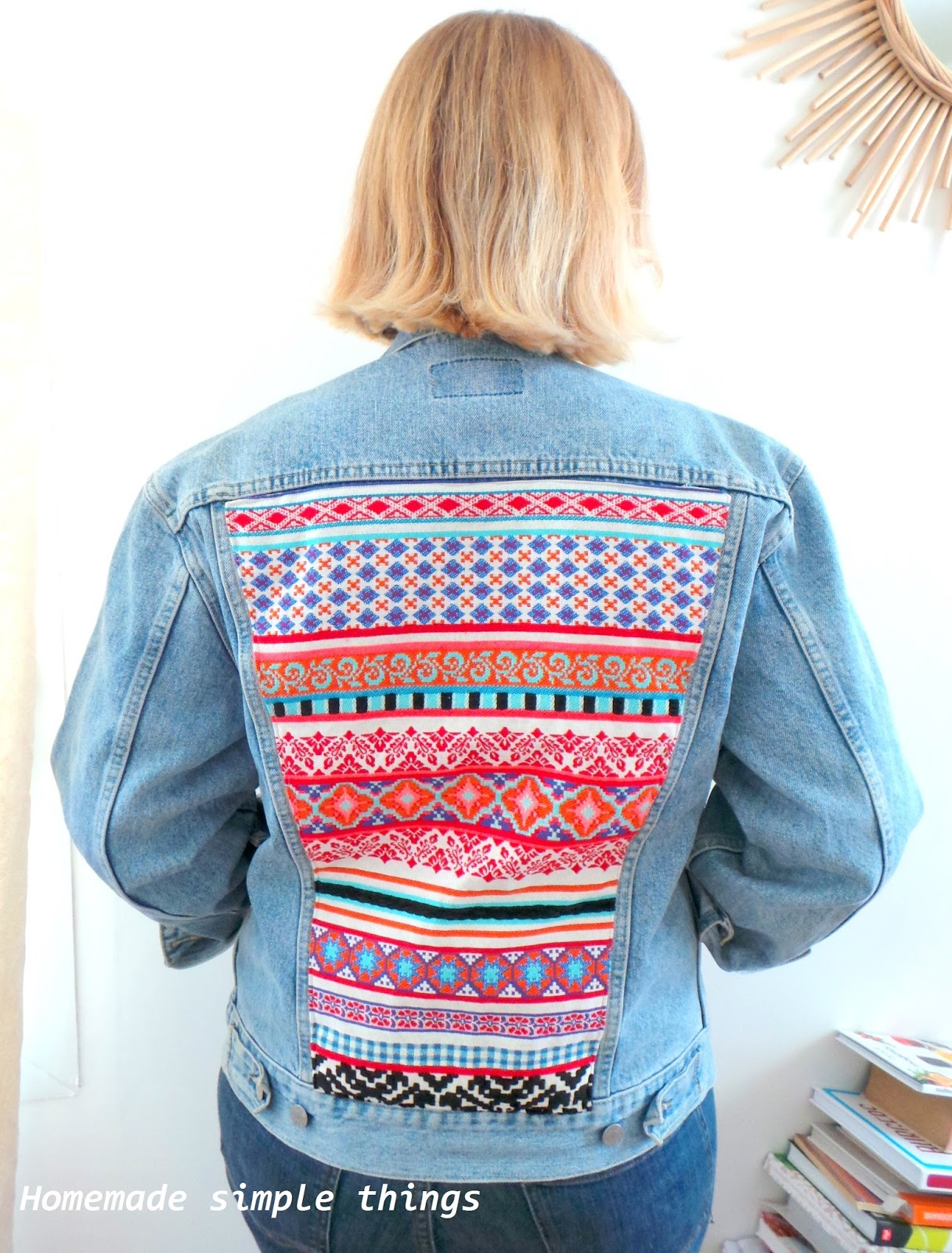 Jean Things Avec Un Une Veste Homemade En Tissu Customiser Simple YUnq5