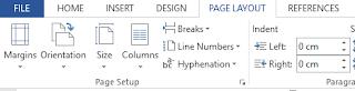 Cara Mengatur Halaman (Page Setup)