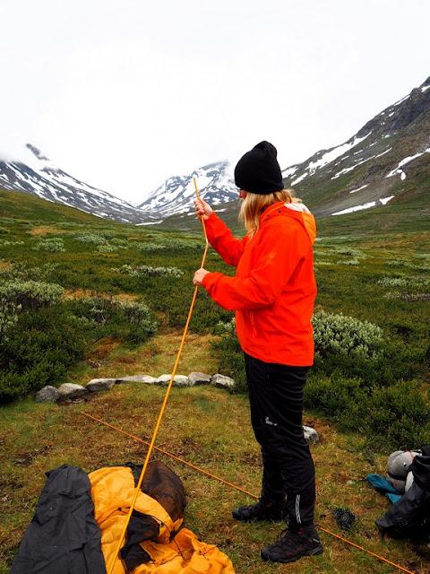 Spiturstulen, Jotunheimen, stan, příroda, trek, Norsko