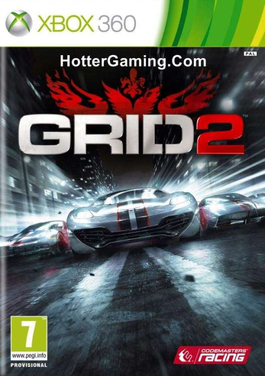 Grid 2 Free Download Xbox 360 Game |Free Download Games Xbox 360 Game Covers Download