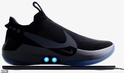 Το μέλλον έρχεται… τρέχοντας – Τα νέα Nike με κορδόνια που δένονται μόνα τους