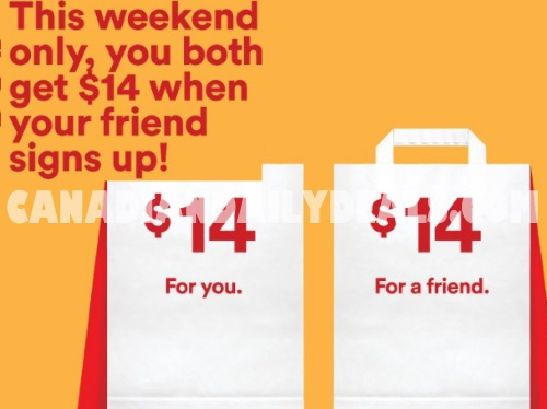 JustEat Free $14 Credit Long Weekend Promo