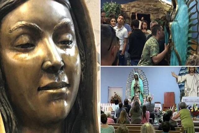 Virgen de Guadalupe lloró aceite en una iglesia de Estados Unidos