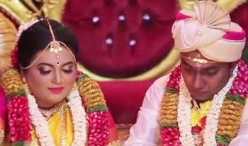 Beautiful Wedding Montage of Dhinagaran & Harishini