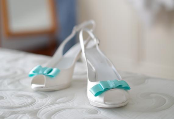 Scarpe Da Sposa Color Tiffany.Scarpe Spose Tiffany Un Tocco Di Colore Per Il Giorno Del