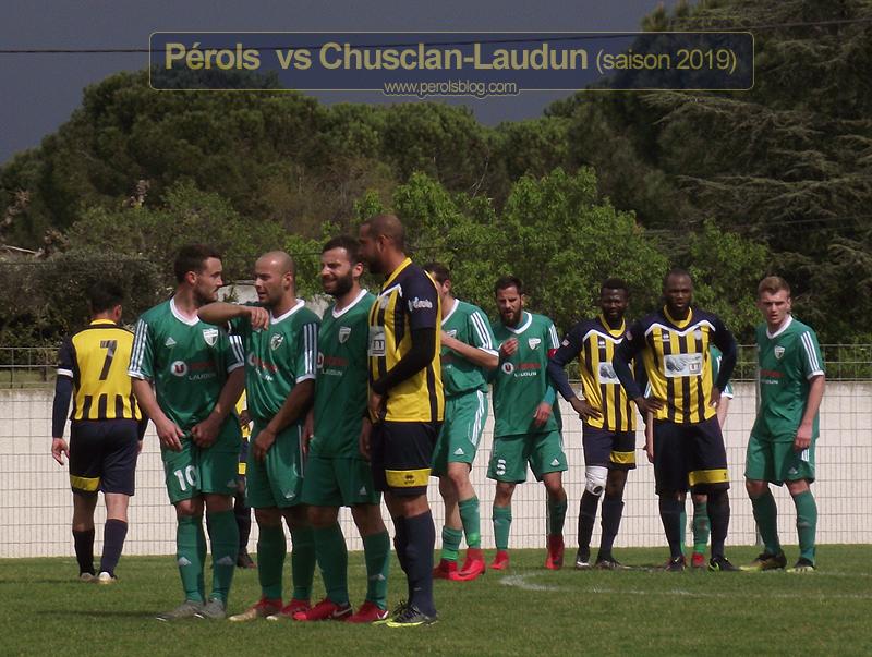 Pérols vs Chusclan-Laudun (saison 2018/19)