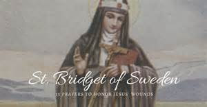 the 15 prayers of st bridget and the 21 promises