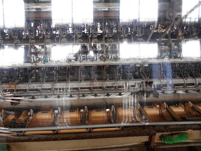 日産の繰糸機械