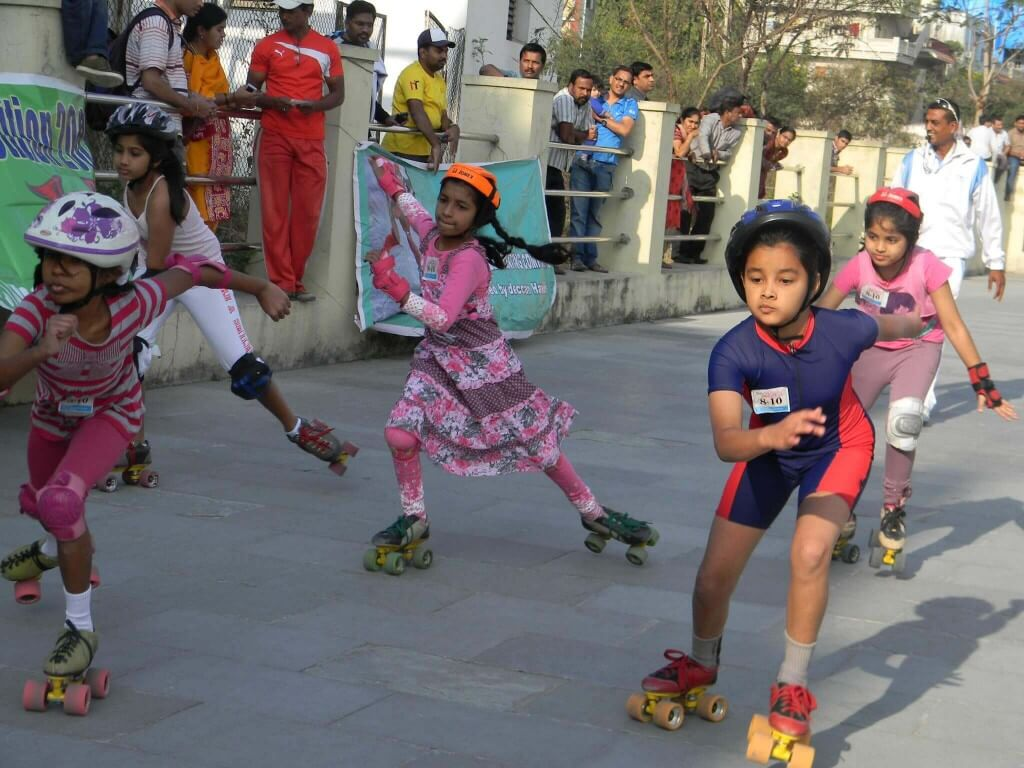 Roller shoes in hyderabad - Skating Classes At Kukatpally In Hyderabad Shoe Roller Skates