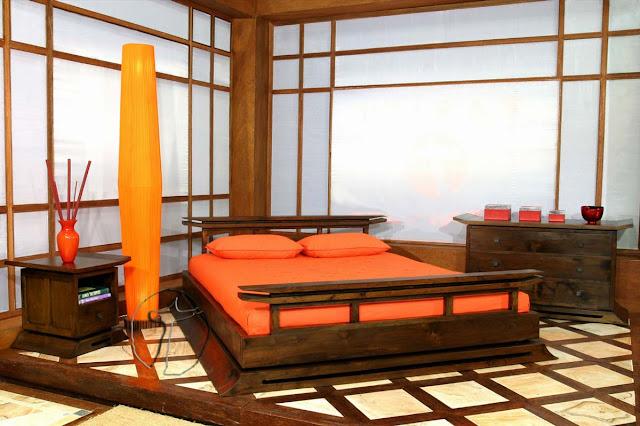 ديكور غرفة نوم يابانية