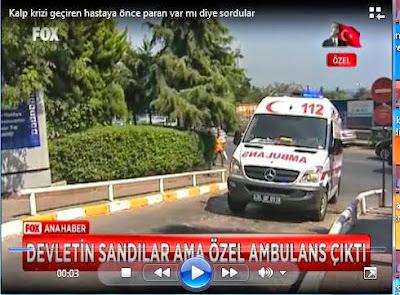 Devlet Hastanesinin önünde Özel Ambulansın ne işi vardı? Acile gitmelerine rağmen neden para alındı?
