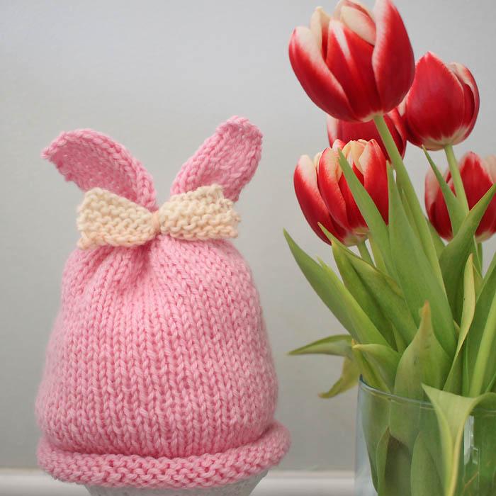 Free Easter Knitting Patterns - Gina Michele