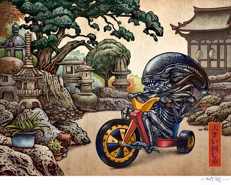 02-Alien-Chet-Phillips-Childhood-Japanese-Styled-Illustrations-www-designstack-co