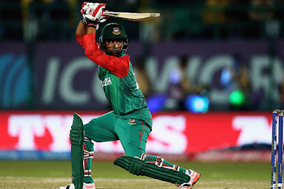Bangladesh Opener Tamim Iqbal Scored A Brilliant Century