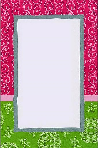 From the 70´s: Free Printable Frames, Borders and Labels.